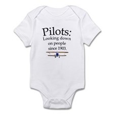 Pilots: Looking down on peopl Infant Bodysuit