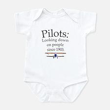 Pilots: Looking down on peopl Onesie