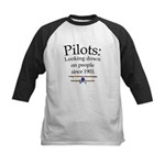 Pilots: Looking down on peopl Kids Baseball Jersey