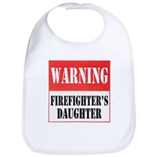 Firefighter Warning-Daughter Bib