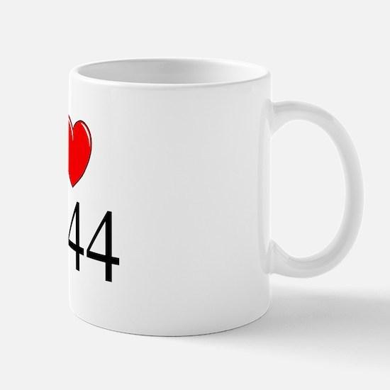 """""""I Love 1944"""" Mug"""