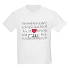 I Love Ballet T-Shirt
