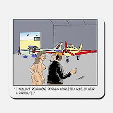 Nude Skydiver Mousepad