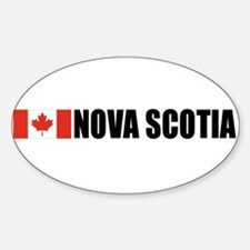 Nova Scotia Oval Bumper Stickers