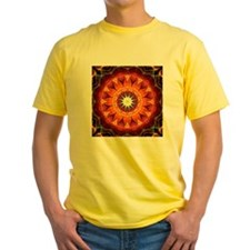 ORange Sunflower Mandala T
