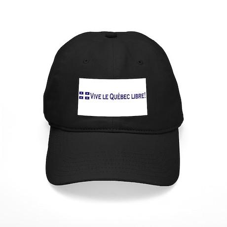 Vive Le Quebec Libre Black Cap