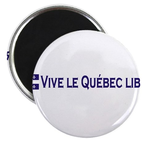 Vive Le Quebec Libre Magnet