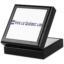 Vive Le Quebec Libre Keepsake Box
