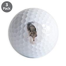 """Lone  Wolf"" Golf Ball"