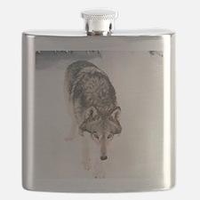 """Lone  Wolf"" Flask"