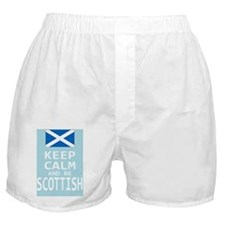 Keep Calm and Be Scottish Boxer Shorts
