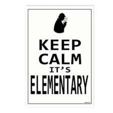 Keep Calm its Elementary! Postcards (Package of 8)