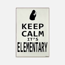 Keep Calm its Elementary! Rectangle Magnet