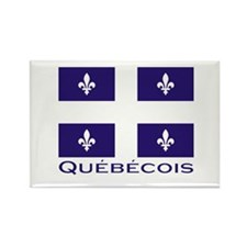 Quebecois Rectangle Magnet