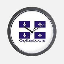 Quebecois Wall Clock
