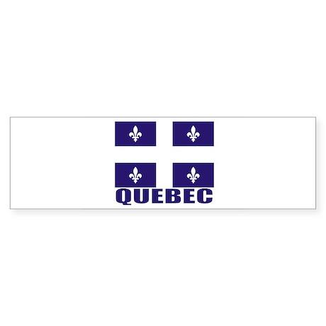 Quebec Bumper Sticker