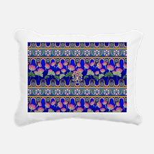 Lotus Rectangular Canvas Pillow
