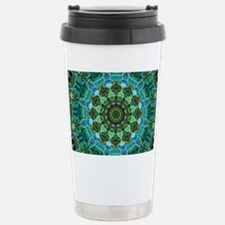 Owl Eyes Mandala Travel Mug