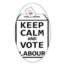 Keep Calm  Vote Labour Decal