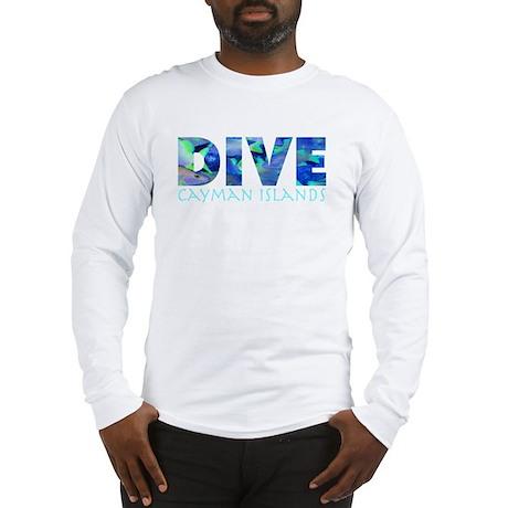 Dive Cayman Islands Long Sleeve T-Shirt