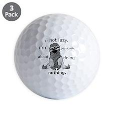 Lazy sloth Golf Ball