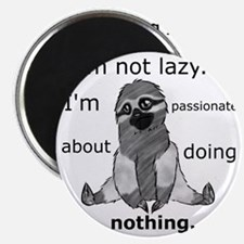 Lazy sloth Magnet