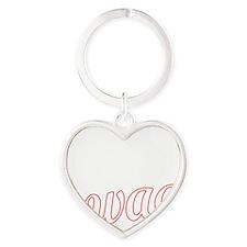 PARDON MY SWAG red Heart Keychain