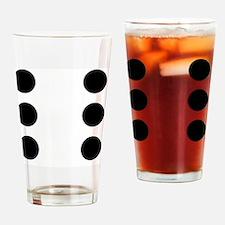 DICE6 Drinking Glass