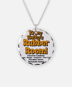 Krazy Kathys Rubber Room Necklace