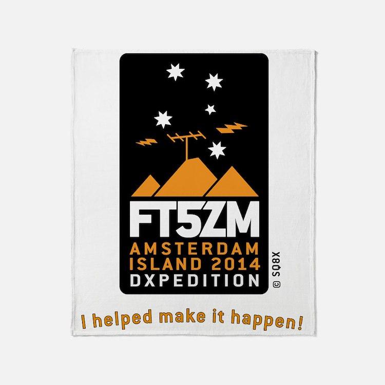FT5ZM I helped make it happen (Verti Throw Blanket