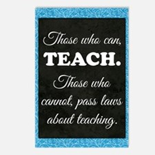 TEACHERS Postcards (Package of 8)