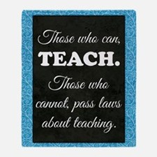 TEACHERS Throw Blanket