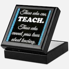 TEACHERS Keepsake Box