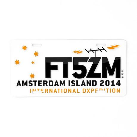 logo_FINAL_horizontal Aluminum License Plate