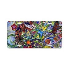 Cool Paisley Aluminum License Plate