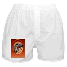 Ornament Oval War Horse Boxer Shorts