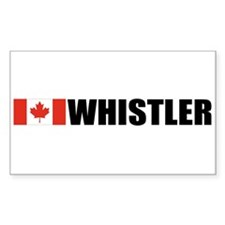 Whistler, British Columbia Rectangle Decal