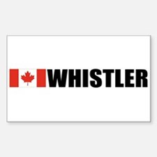 Whistler, British Columbia Rectangle Decal