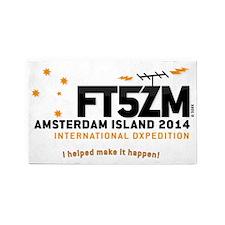 FT5ZM-Southern Cross Logo 3'x5' Area Rug