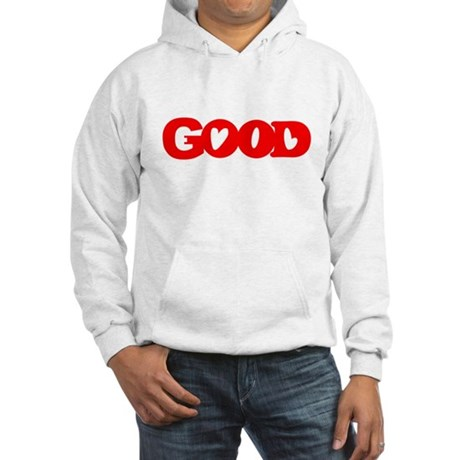 GOOD SHIRT EVIL SHIRT OPTICAL Hooded Sweatshirt