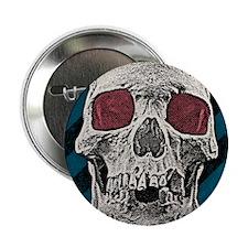 "Vintage Skull 2.25"" Button"