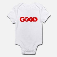 GOOD SHIRT EVIL SHIRT OPTICAL Infant Bodysuit
