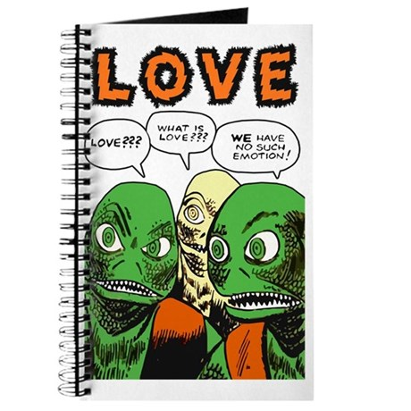 Love Scifi Vintage Journal