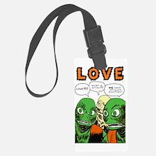Love scifi vintage Luggage Tag