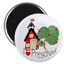 """I Love Preschool 2.25"""" Magnet (100 pack)"""