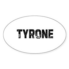 Tyrone Oval Decal