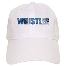 Whistler, British Columbia Baseball Baseball Cap