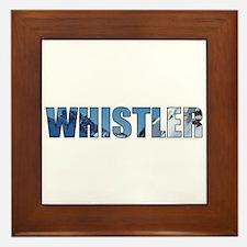 Whistler, British Columbia Framed Tile
