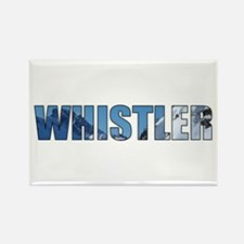 Whistler, British Columbia Rectangle Magnet