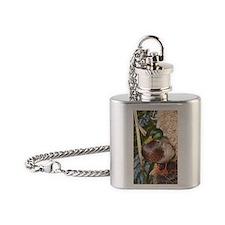 Mallard Duck Flask Necklace